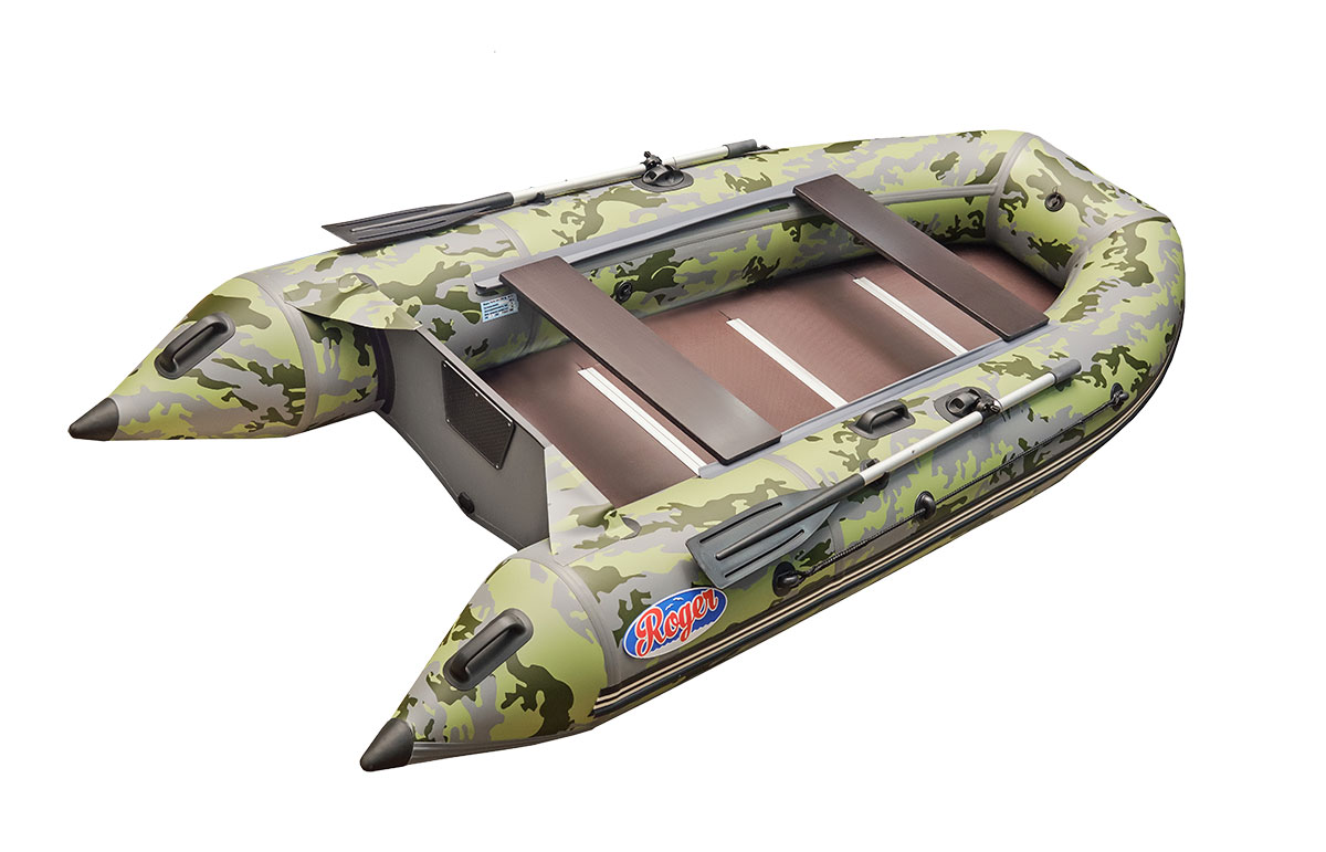 Лодка ПВХ Hunter Keel 3500, камуфляж