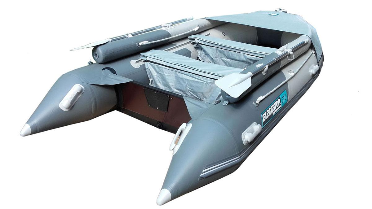 Лодка ПВХ GLADIATOR D370AL фальшборт