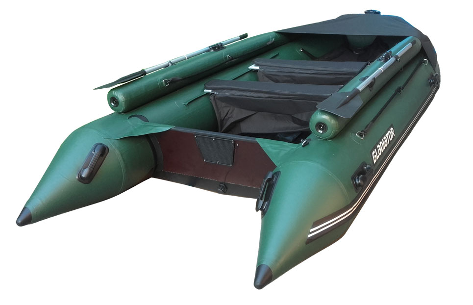 Лодка ПВХ ГЛАДИАТОР D500AL фальшборт
