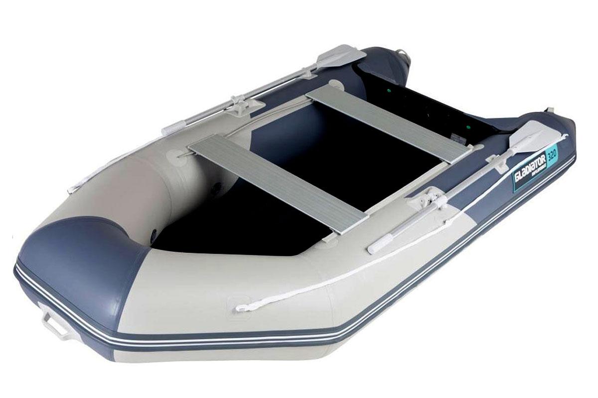 Лодка ПВХ ГЛАДИАТОР E 320 LT НДНД
