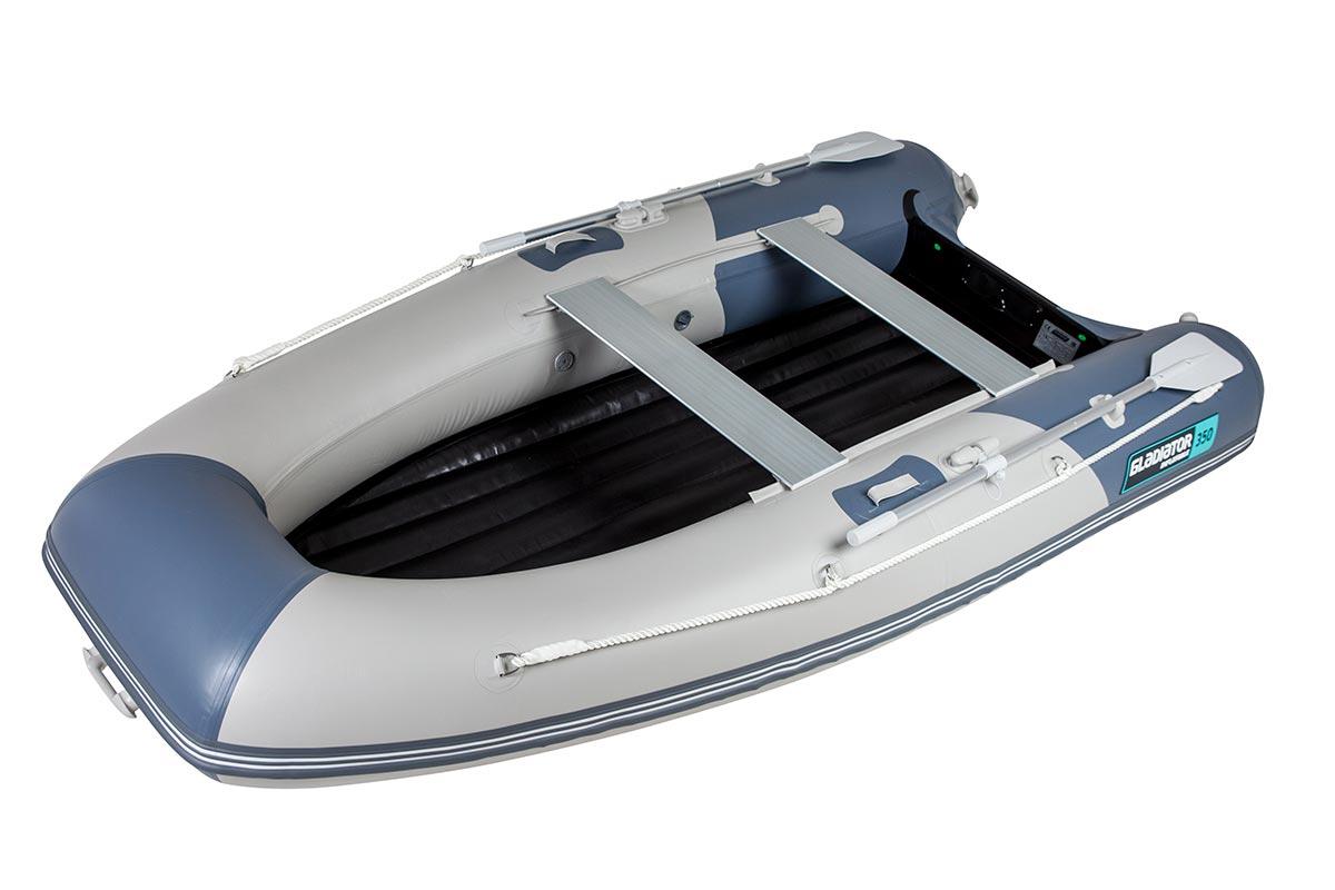 Лодка ПВХ GLADIATOR E 350 Light НДНД