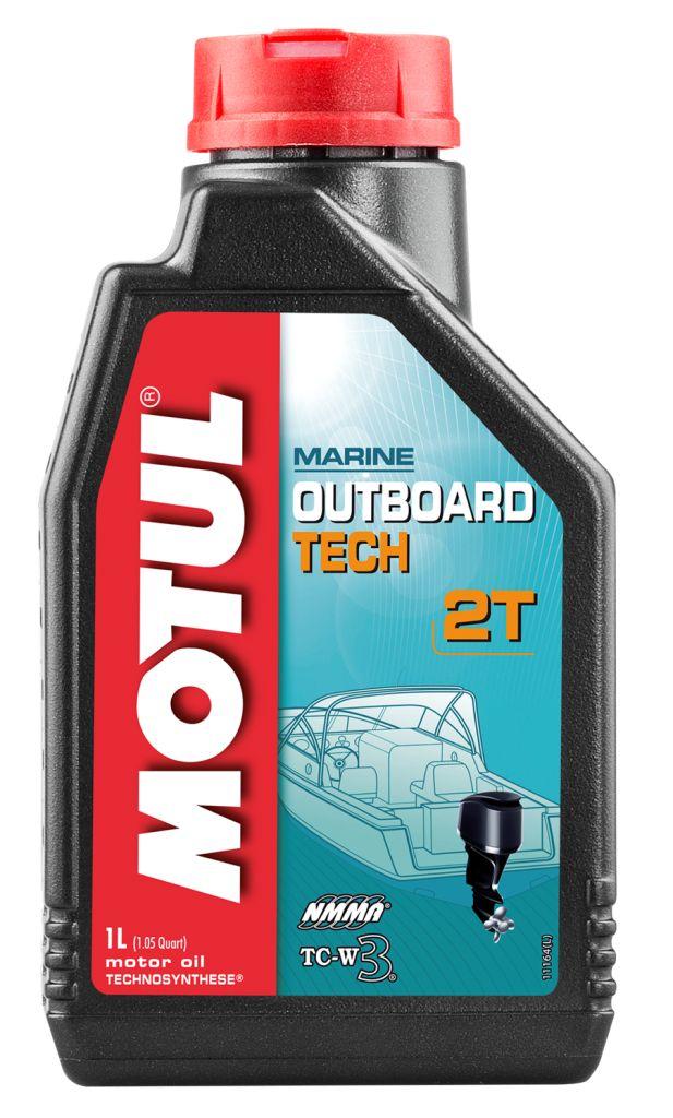 Масло MOTUL Outboard Tech 2T, 1 литр