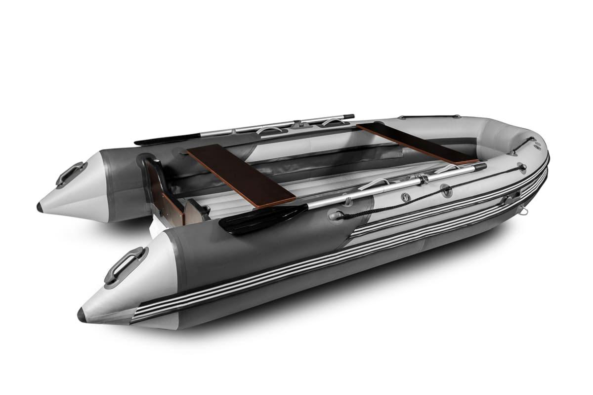 Лодка ПВХ РИФ СКАТ 370 Пластик