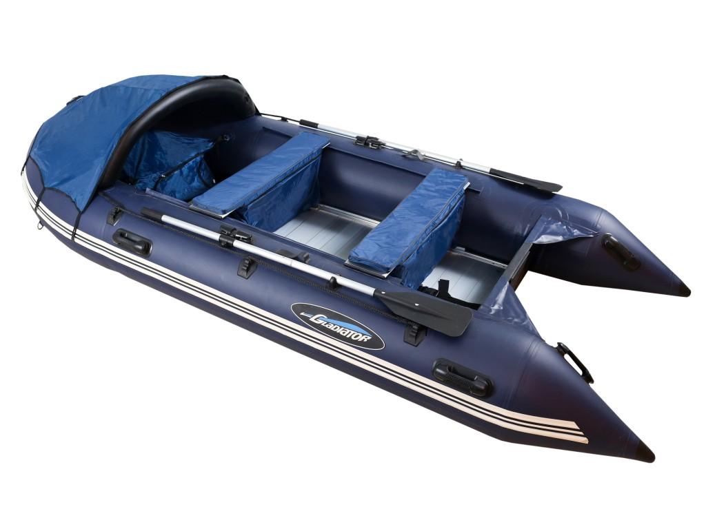 Лодка ПВХ GLADIATOR D370AL