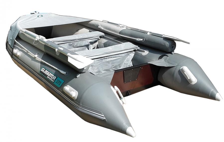 Лодка ПВХ GLADIATOR D400AL фальшборт