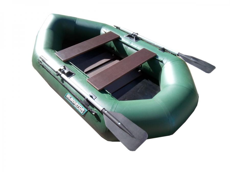 Гребная лодка ПВХ GLADIATOR A 260