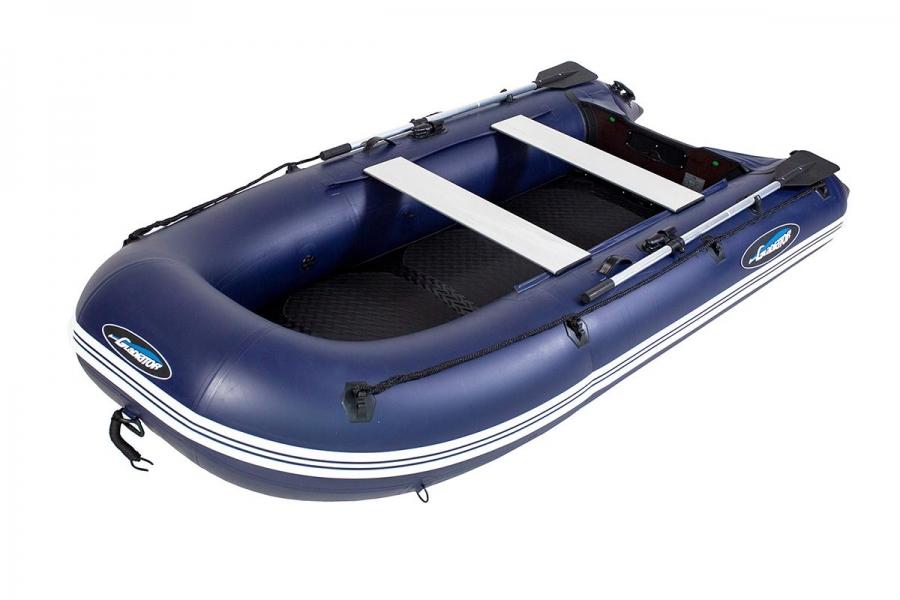 Лодка ПВХ GLADIATOR B270AD пол AirDeck