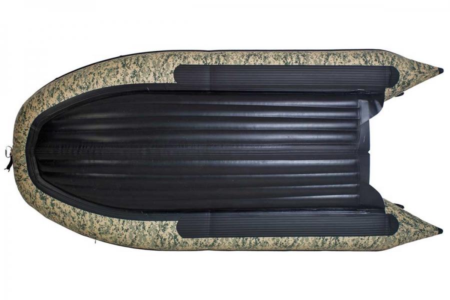Лодка ПВХ ГЛАДИАТОР E 350 НДНД Камуфляж