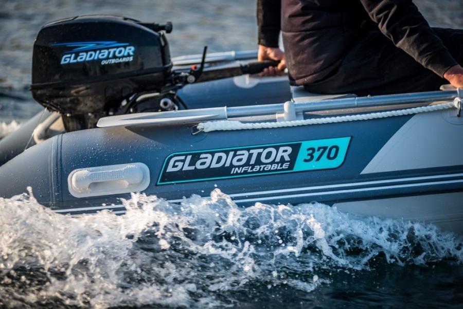 Лодка ПВХ GLADIATOR C370AL