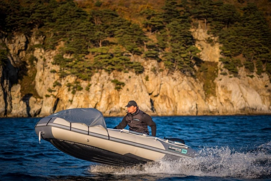 Лодка ПВХ ГЛАДИАТОР E 350 AIR Maxima
