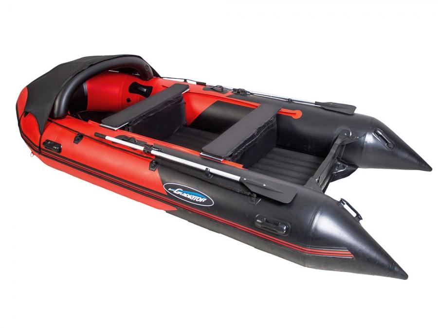 Лодка ПВХ GLADIATOR E 450 Maxima НДНД