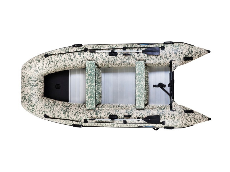 Лодка ПВХ GLADIATOR HD430AL CAMO