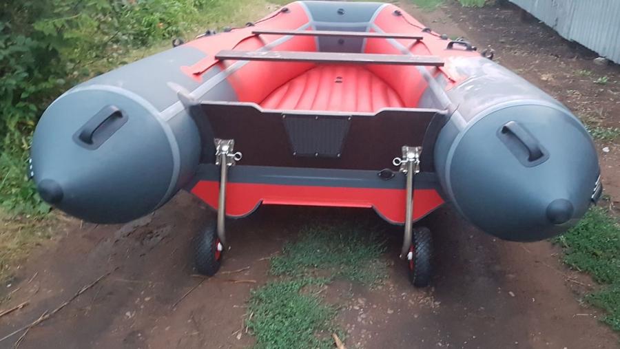 Транцевые колеса для лодок НДНД откидные