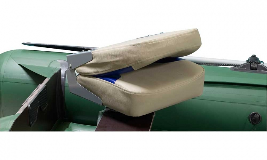 Кресло раскладное мягкое в лодку ПВХ