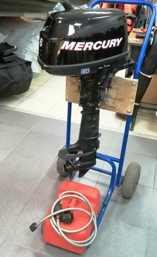 Лодочный мотор MERCURY F6S  Б/У