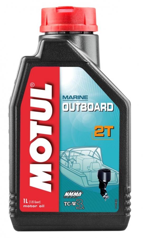 Масло MOTUL Outboard 2T, 1 литр