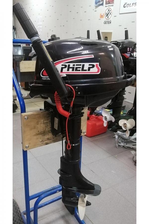 Лодочный мотор PHELPS F5BMS Б/У