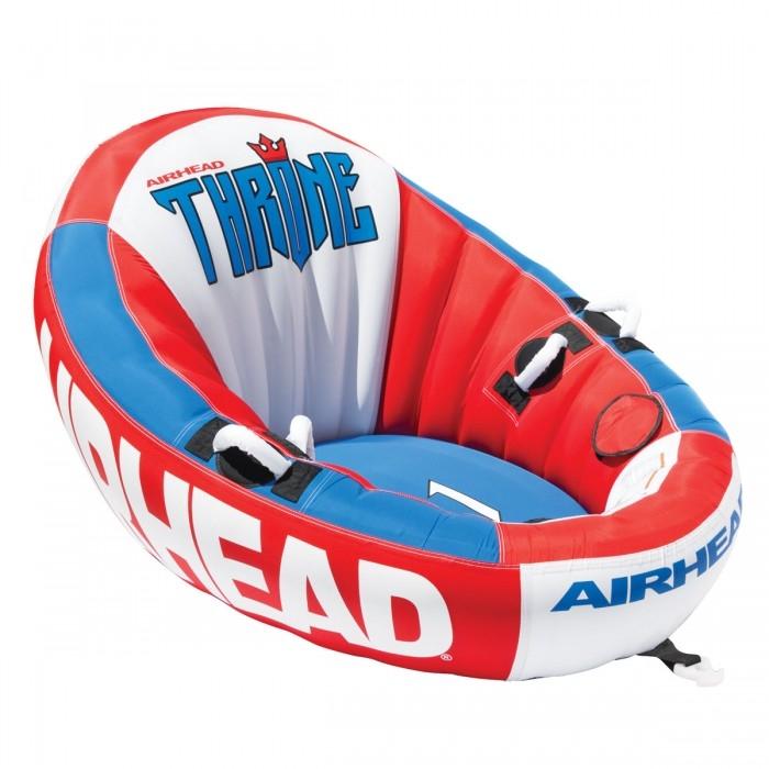 Надувная ватрушка AirHead Throne 1