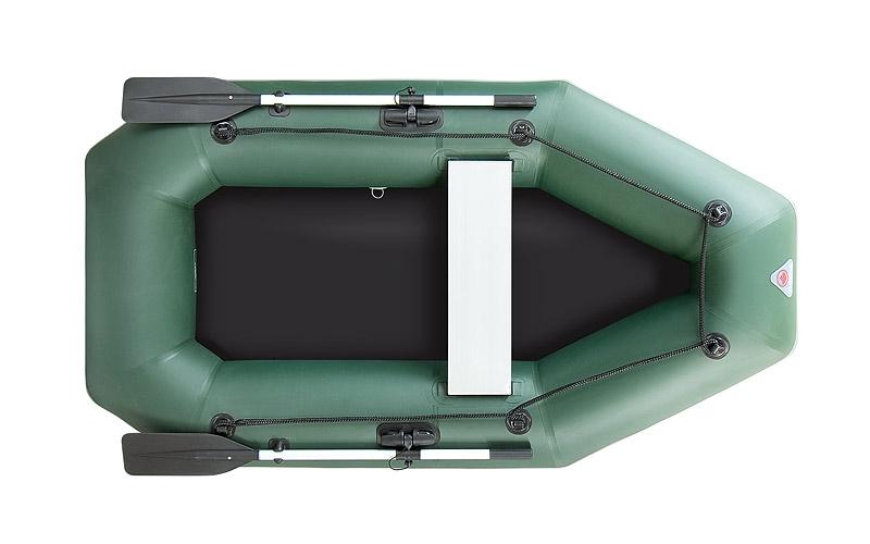 Лодка ПВХ YUKONA 230GT пол фанера