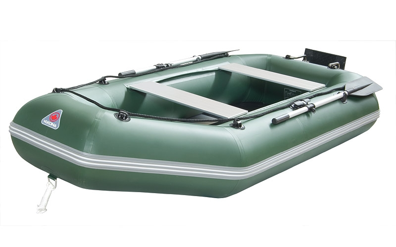 Лодка ПВХ YUKONA 300GT пол фанерный реечный настил