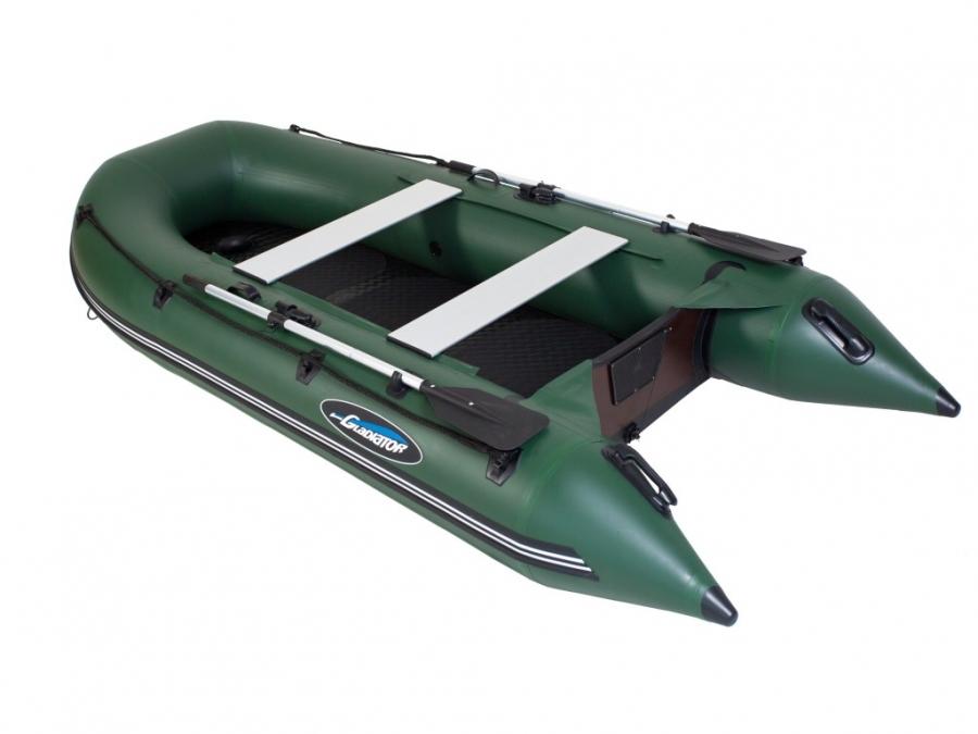 Лодка ПВХ GLADIATOR B300AD пол AirDeck