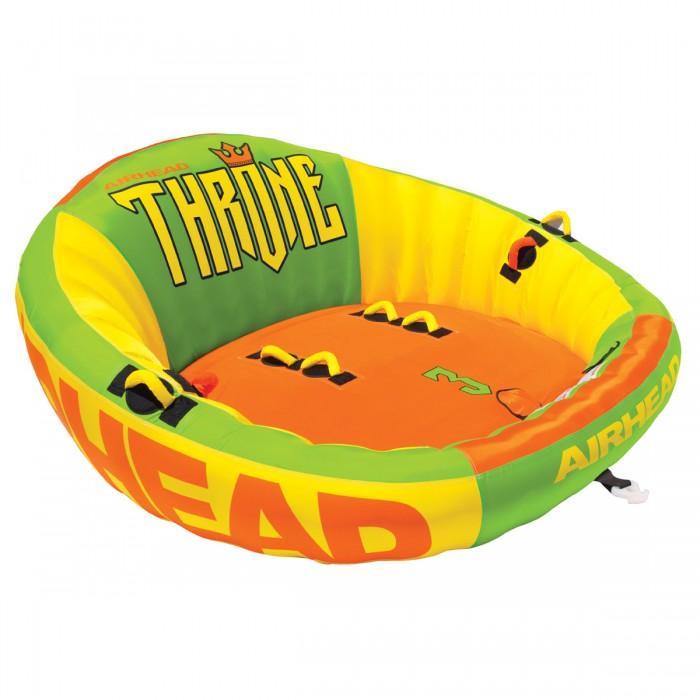 Надувная ватрушка AirHead Throne 3