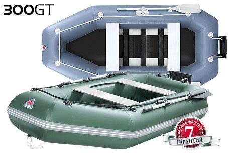Лодка ПВХ YUKONA 300GT пол алюминиевый реечный